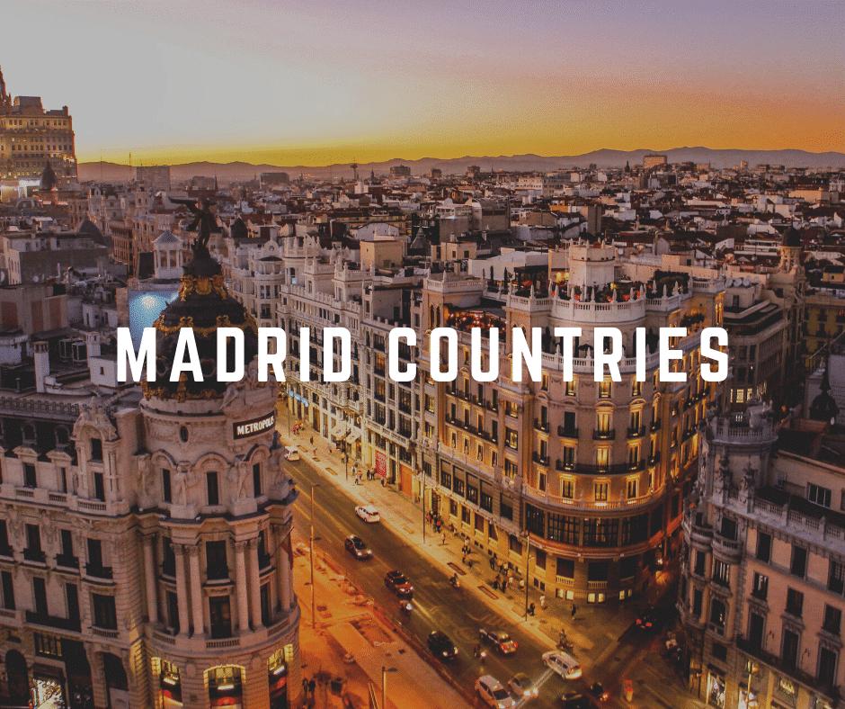 Madrid countries