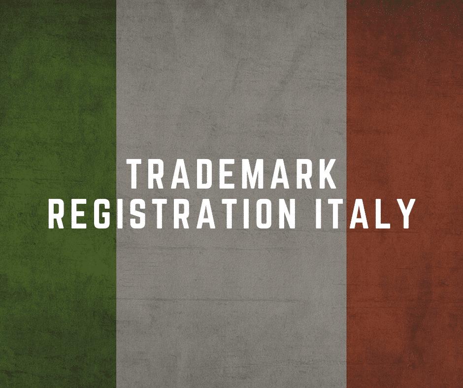 Trademark registration Italy
